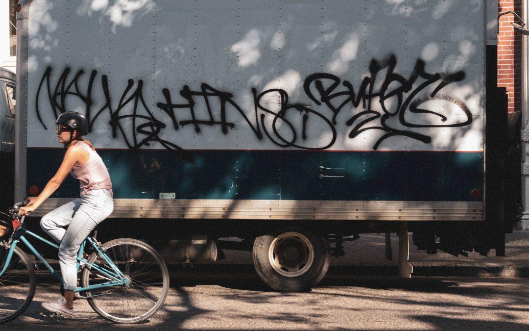 Bliv en del af cykelbybilledet ved leasing af ladcykel